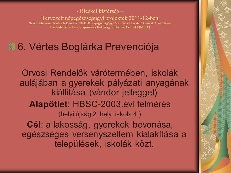 6. Vértes Boglárka Prevenciója