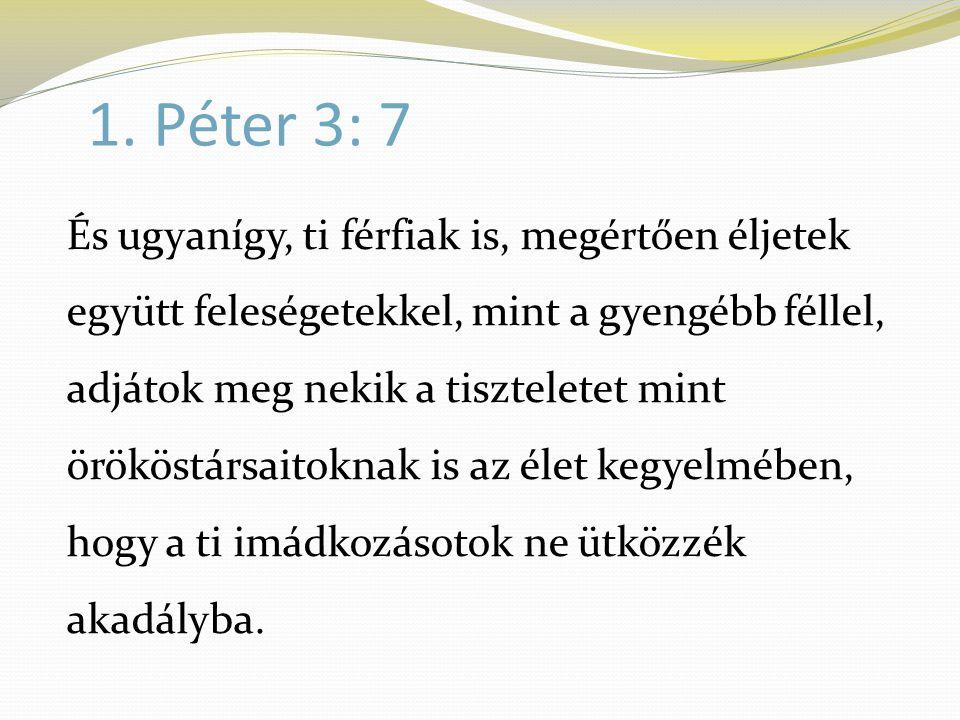 1. Péter 3: 7