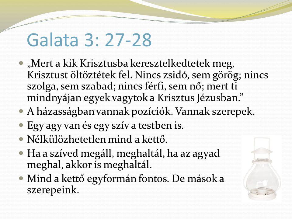 Galata 3: 27-28