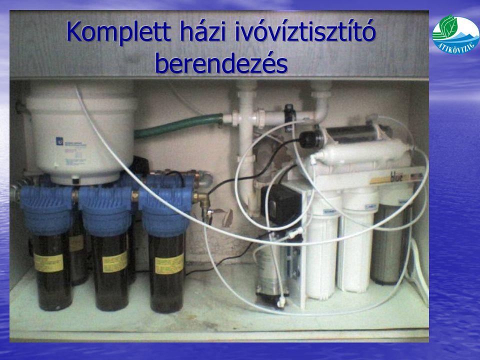 Komplett házi ivóvíztisztító berendezés