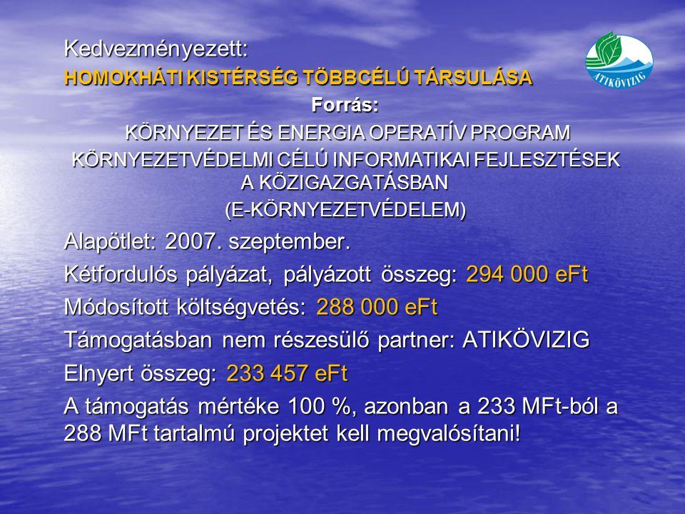 Alapötlet: 2007. szeptember.