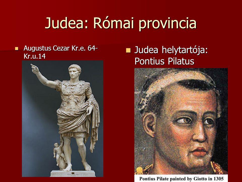 Judea: Római provincia