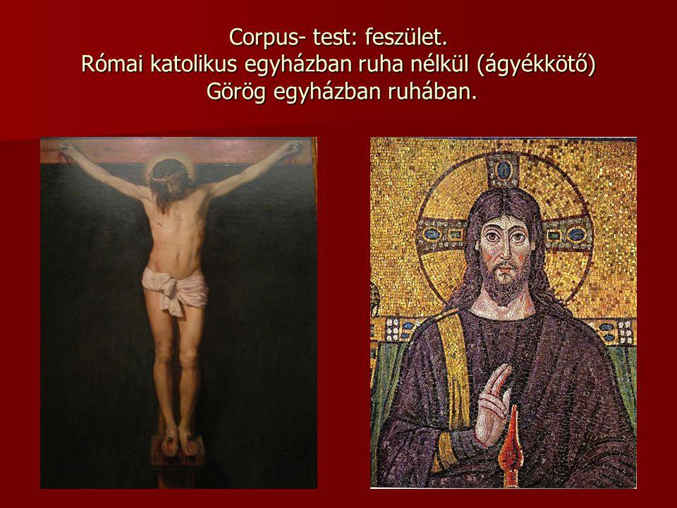 Corpus- test: feszület
