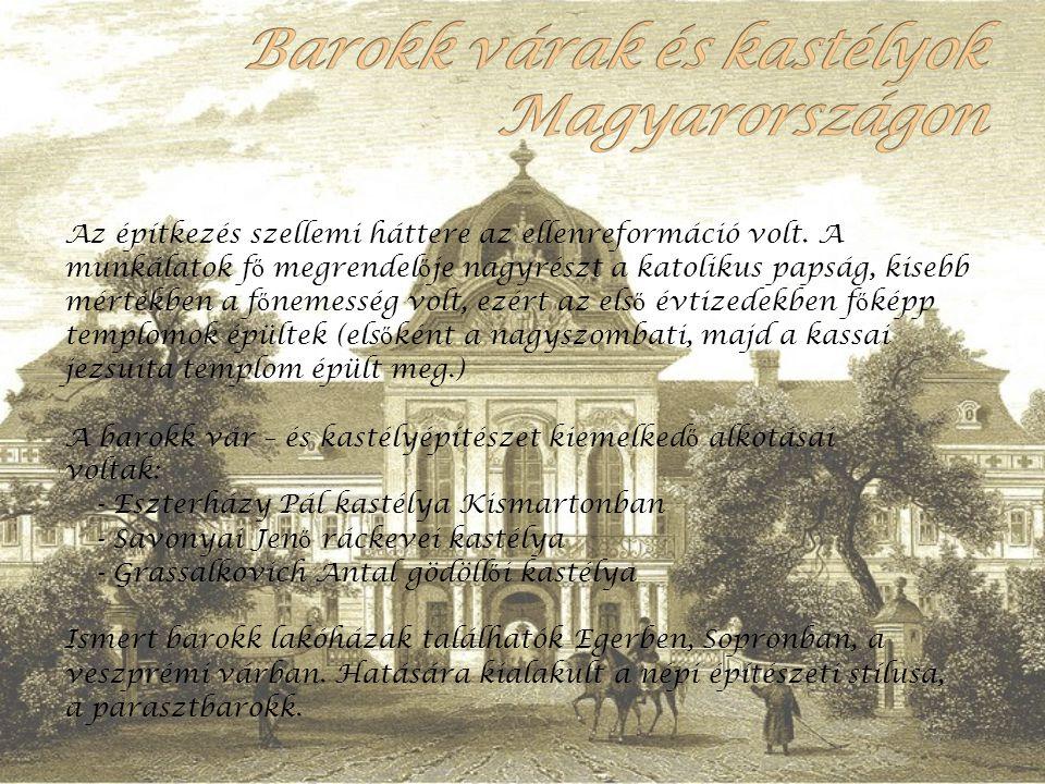 Barokk várak és kastélyok Magyarországon