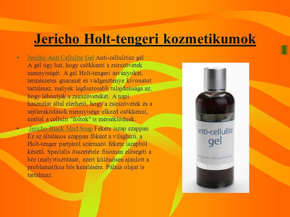 Jericho Holt-tengeri kozmetikumok