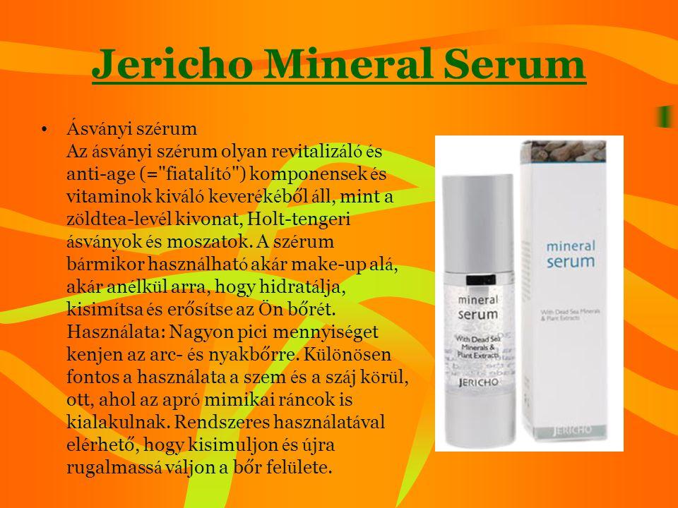 Jericho Mineral Serum