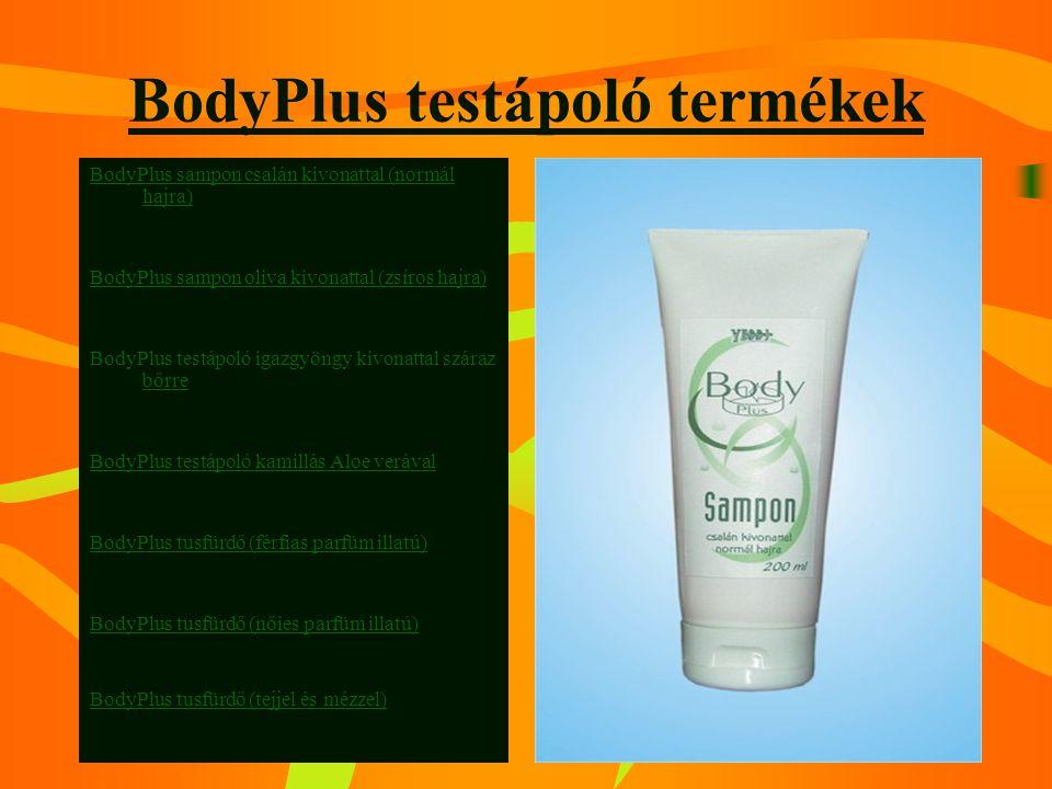 BodyPlus testápoló termékek