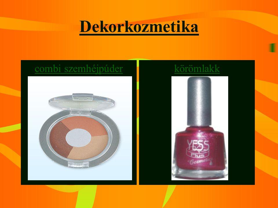 Dekorkozmetika combi szemhéjpúder körömlakk
