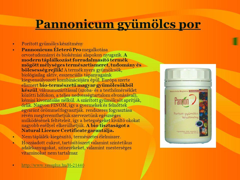 Pannonicum gyümölcs por