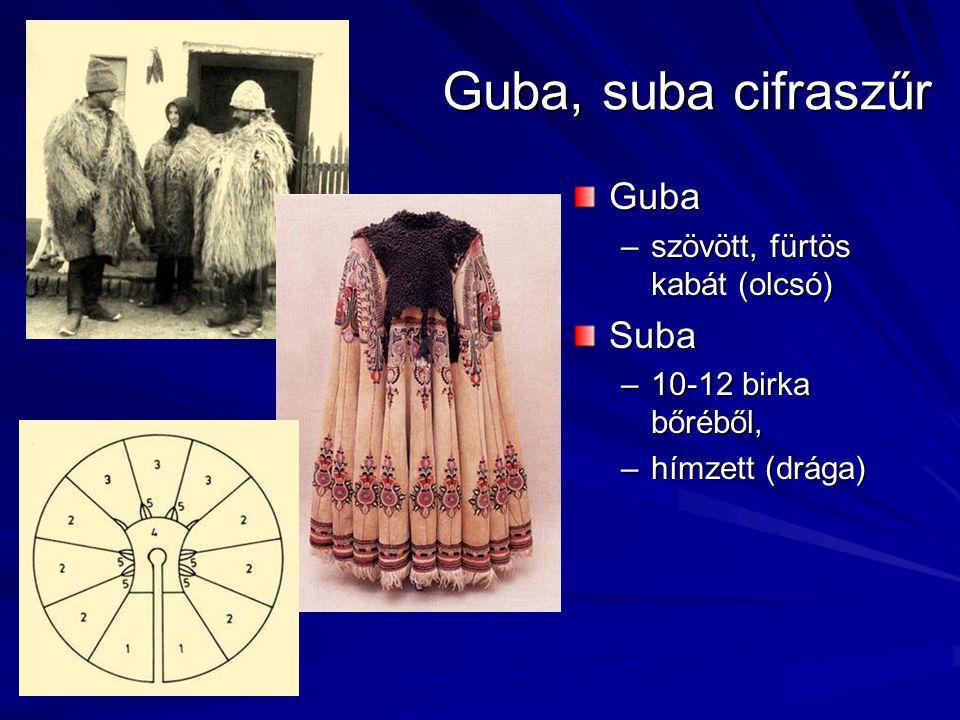 Guba, suba cifraszűr Guba Suba szövött, fürtös kabát (olcsó)