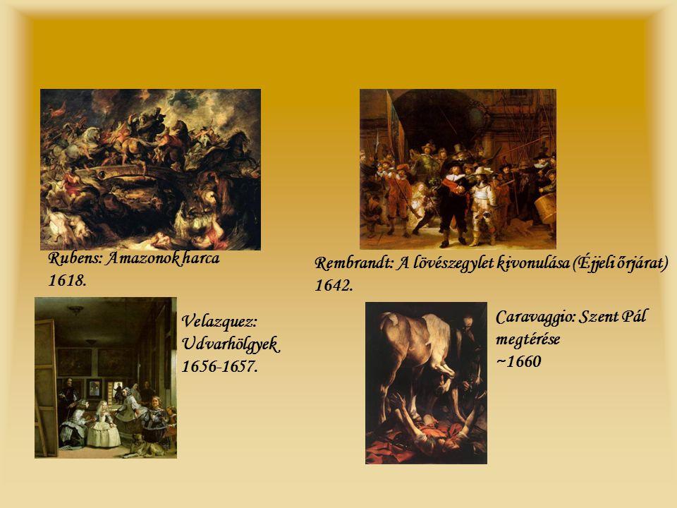 Rubens: Amazonok harca