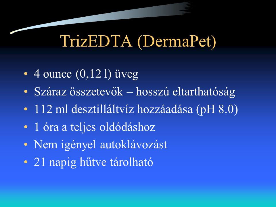 TrizEDTA (DermaPet) 4 ounce (0,12 l) üveg