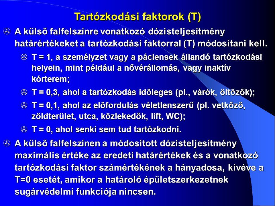 Tartózkodási faktorok (T)