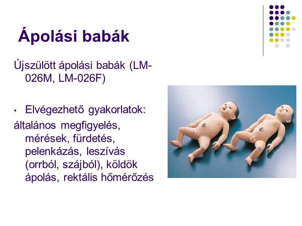 Ápolási babák Újszülött ápolási babák (LM-026M, LM-026F)
