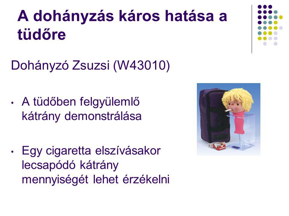 A dohányzás káros hatása a tüdőre