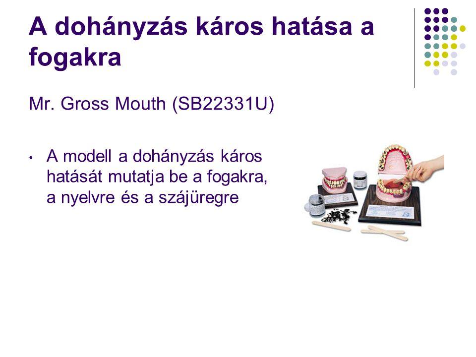 A dohányzás káros hatása a fogakra