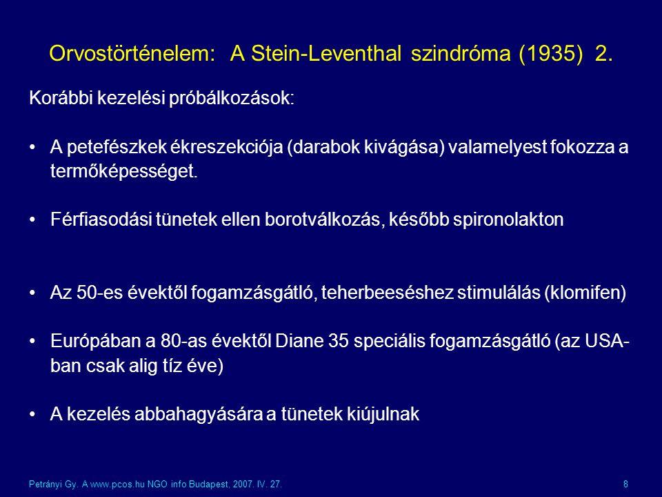 Orvostörténelem: A Stein-Leventhal szindróma (1935) 2.