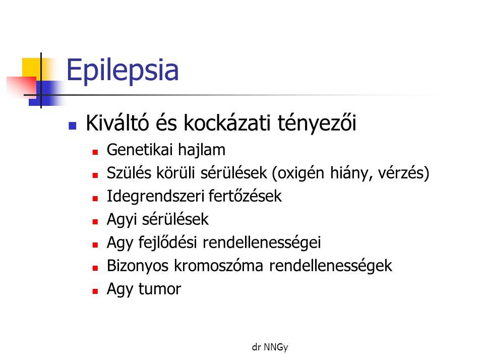 Epilepsia Kiváltó és kockázati tényezői Genetikai hajlam