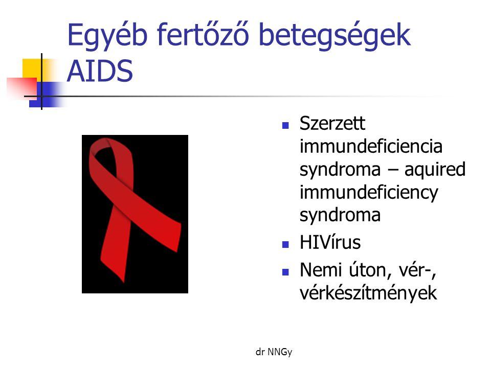 Egyéb fertőző betegségek AIDS
