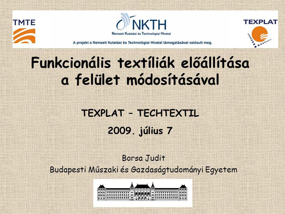 Borsa Judit Budapesti Műszaki és Gazdaságtudományi Egyetem