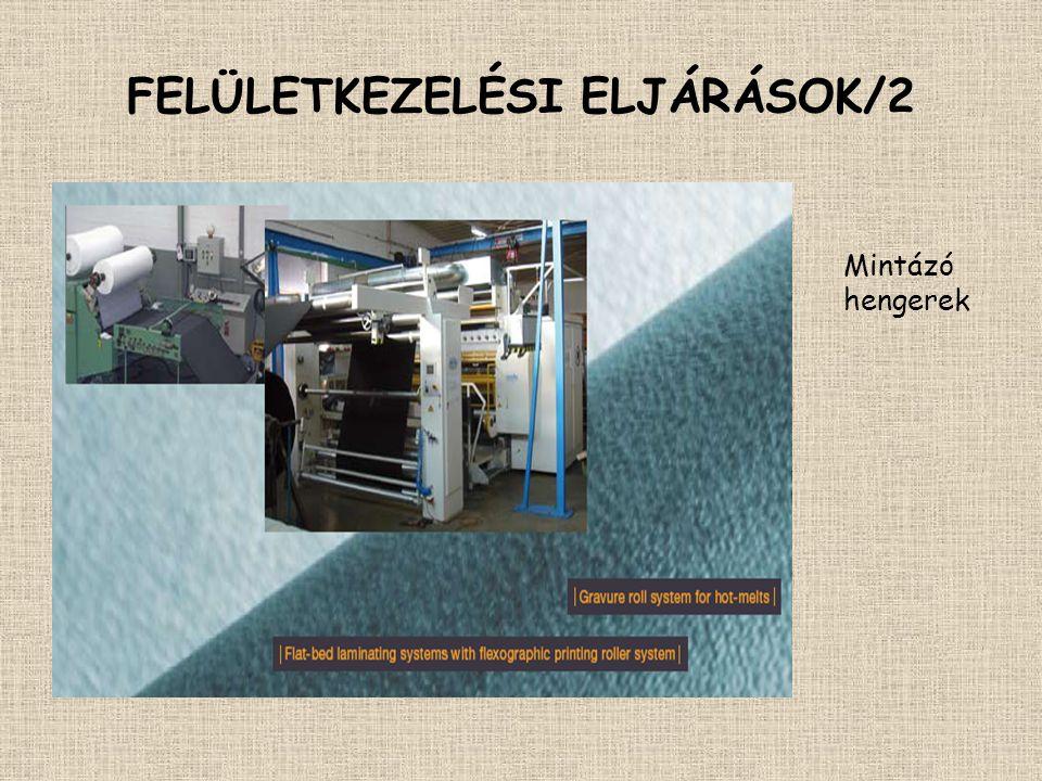 FELÜLETKEZELÉSI ELJÁRÁSOK/2
