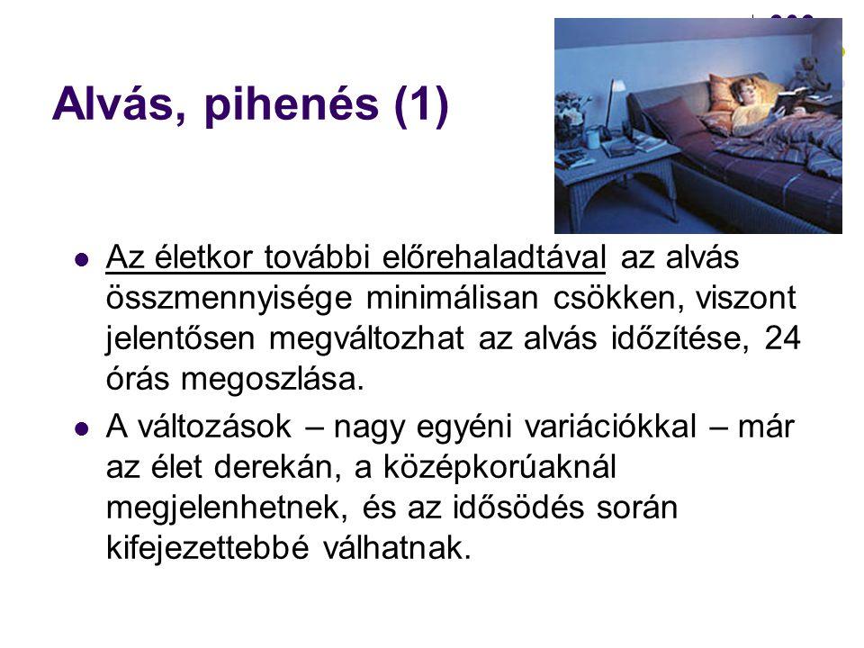Alvás, pihenés (1)