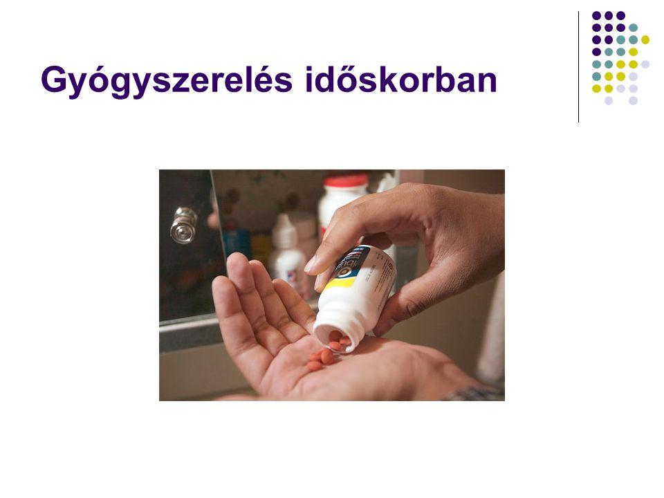 Gyógyszerelés időskorban