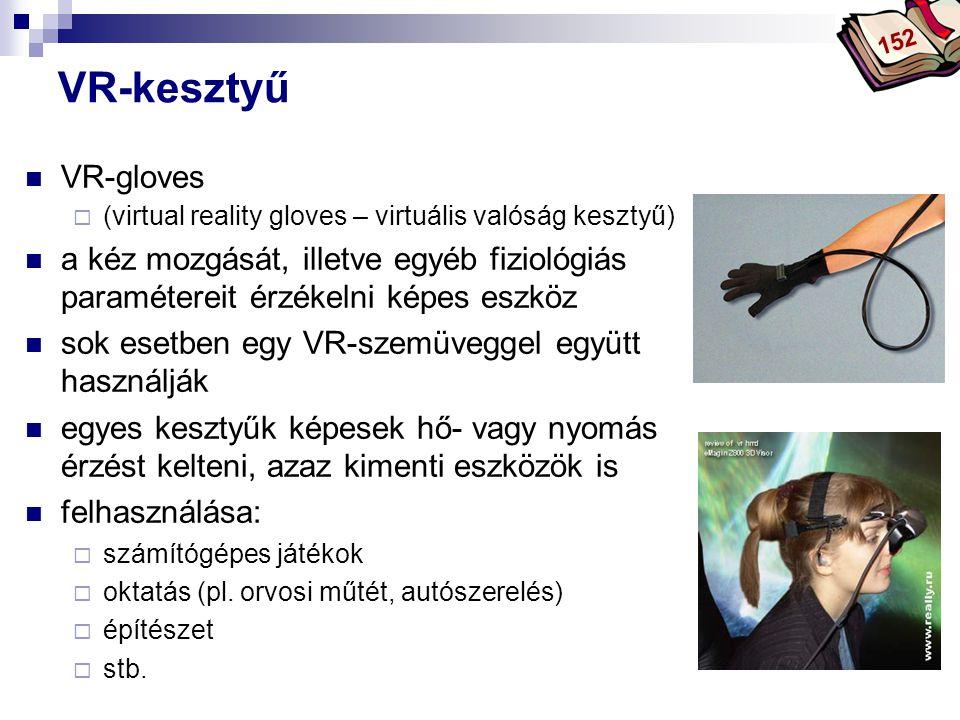 152 VR-kesztyű. VR-gloves. (virtual reality gloves – virtuális valóság kesztyű)
