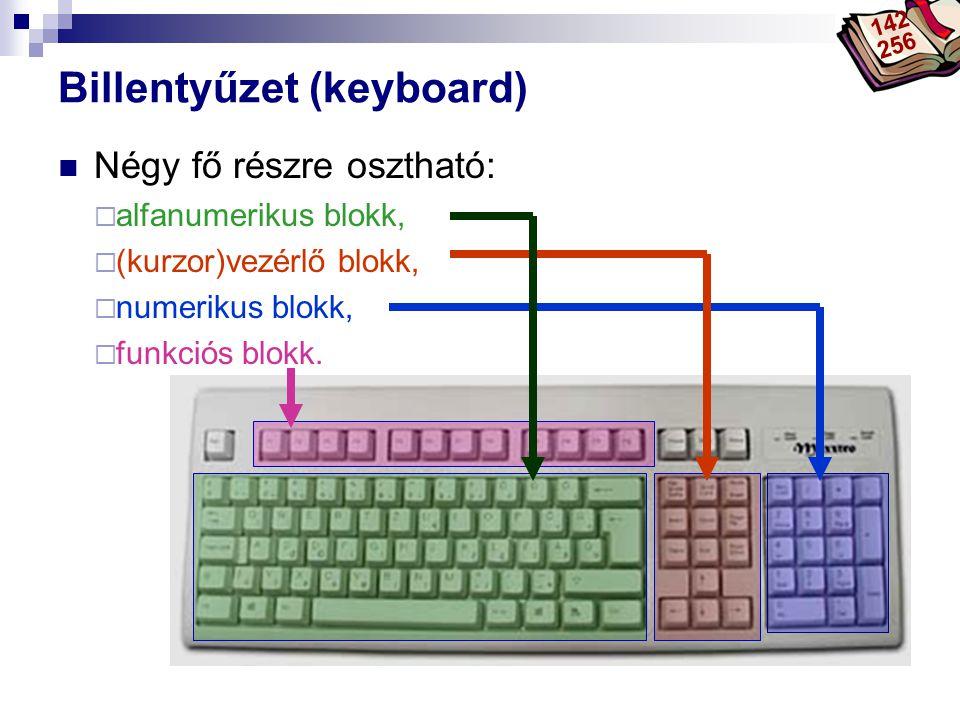 Billentyűzet (keyboard)
