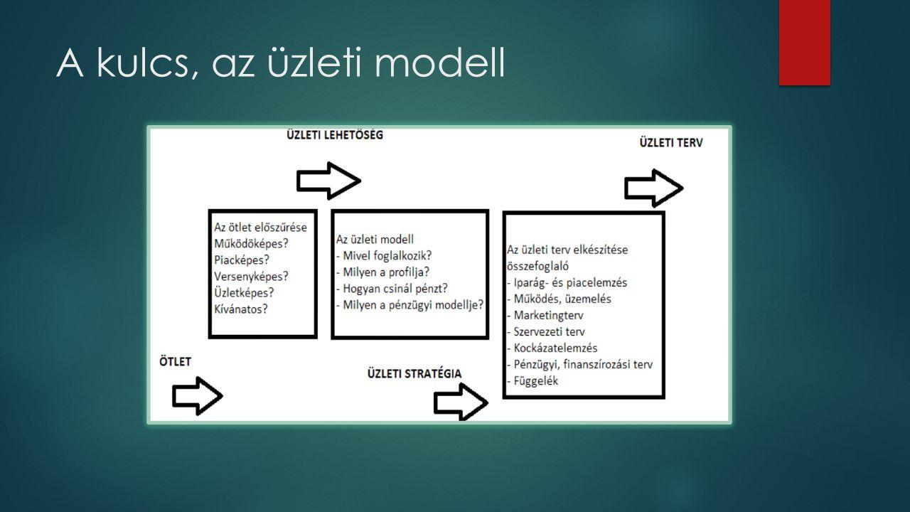 A kulcs, az üzleti modell