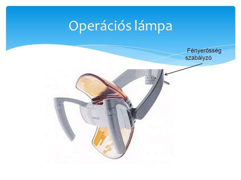 Operációs lámpa Fényerősség szabályzó