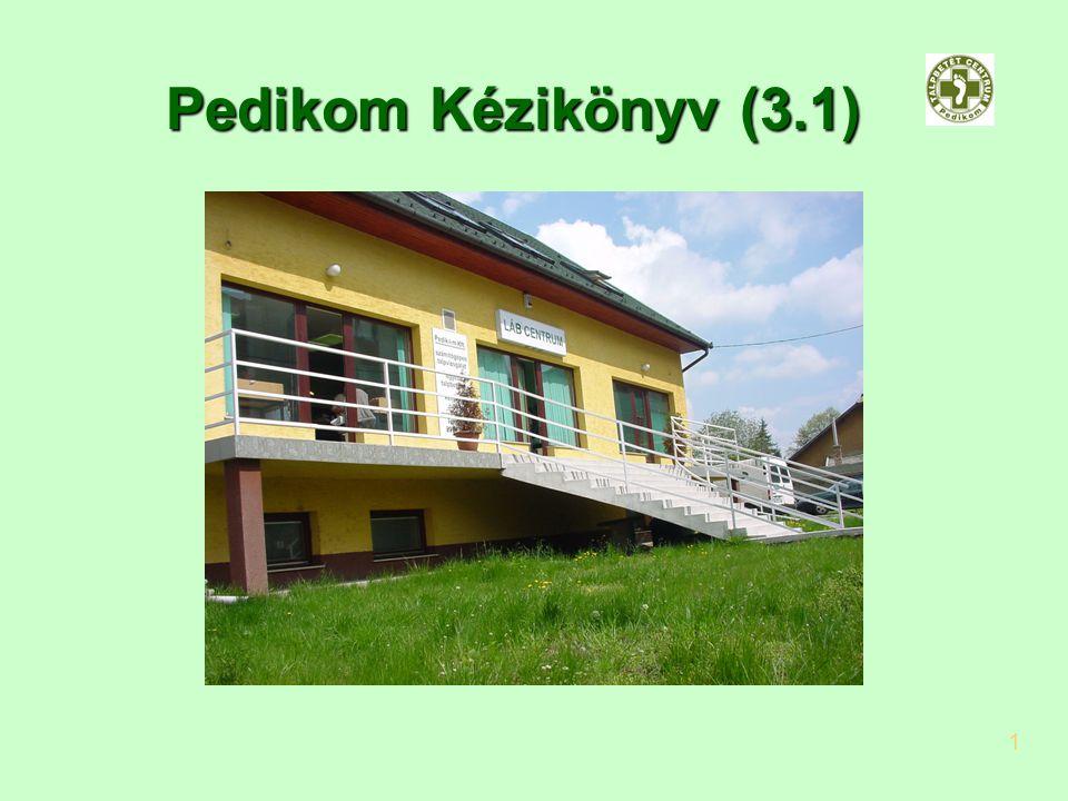 2017.04.04. Pedikom Kézikönyv (3.1) 1