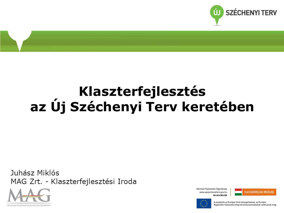 Klaszterfejlesztés az Új Széchenyi Terv keretében