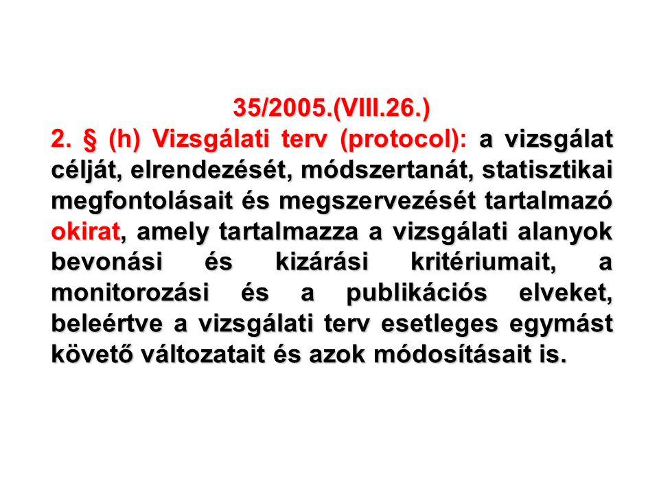 35/2005.(VIII.26.) 2.