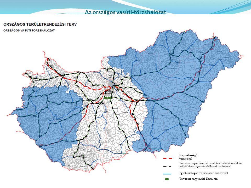 Az országos vasúti-törzshálózat