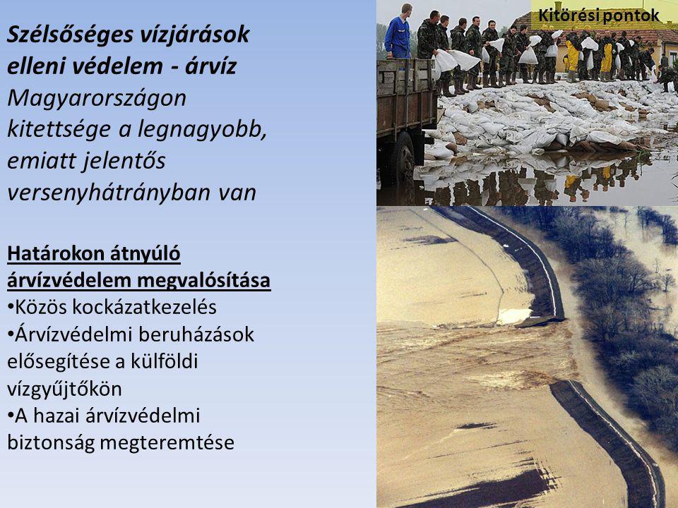Szélsőséges vízjárások elleni védelem - árvíz