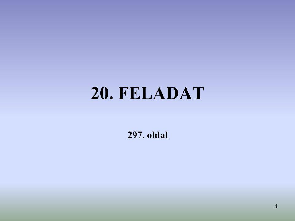 20. FELADAT 297. oldal