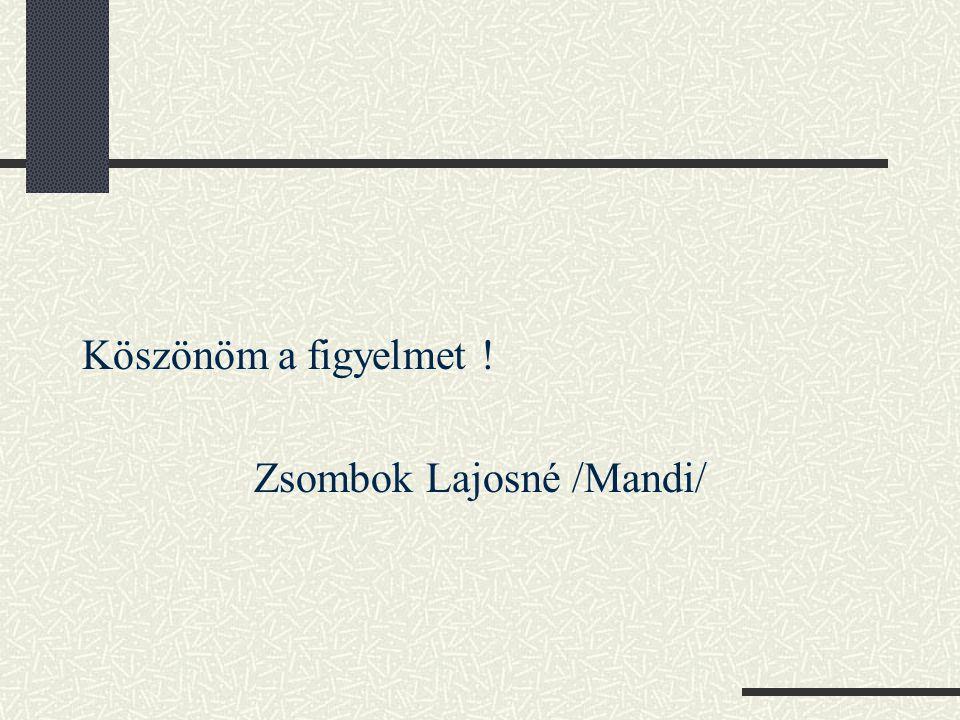 Zsombok Lajosné /Mandi/