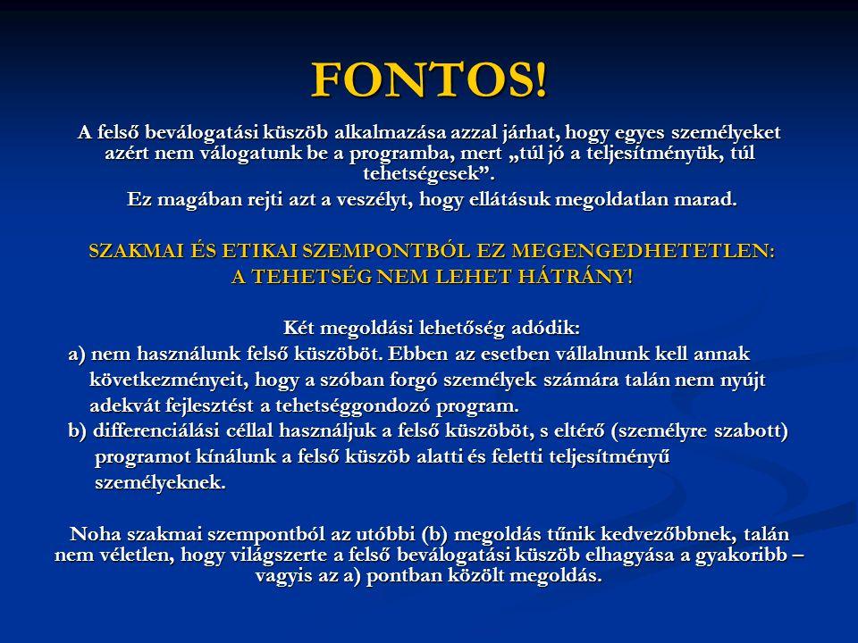 FONTOS!