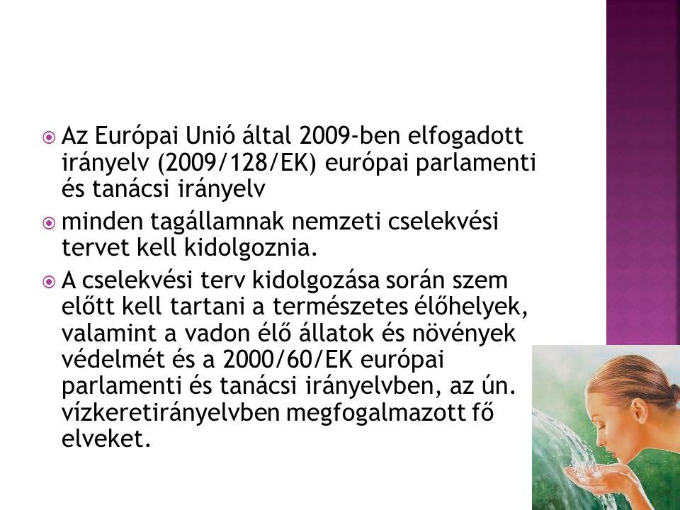 Az Európai Unió által 2009-ben elfogadott irányelv (2009/128/EK) európai parlamenti és tanácsi irányelv
