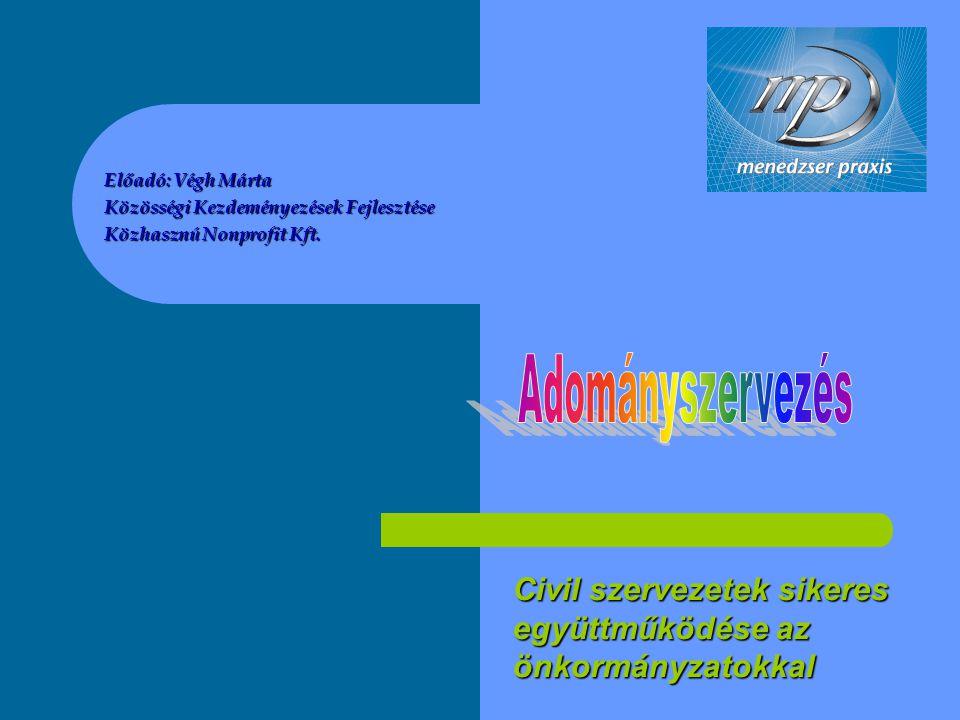 Civil szervezetek sikeres együttműködése az önkormányzatokkal