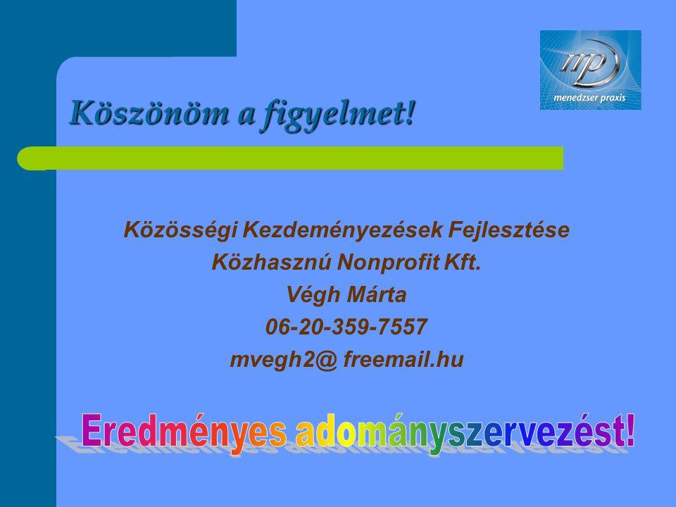 Közösségi Kezdeményezések Fejlesztése Közhasznú Nonprofit Kft.