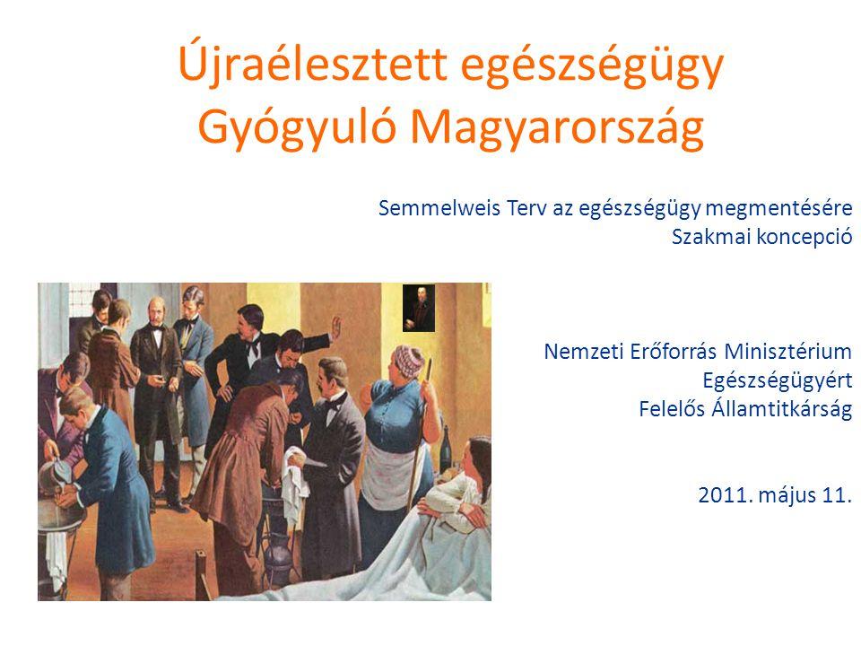 Újraélesztett egészségügy Gyógyuló Magyarország
