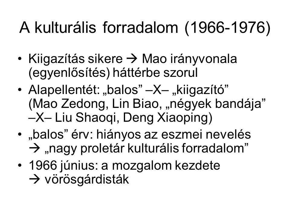 A kulturális forradalom (1966-1976)