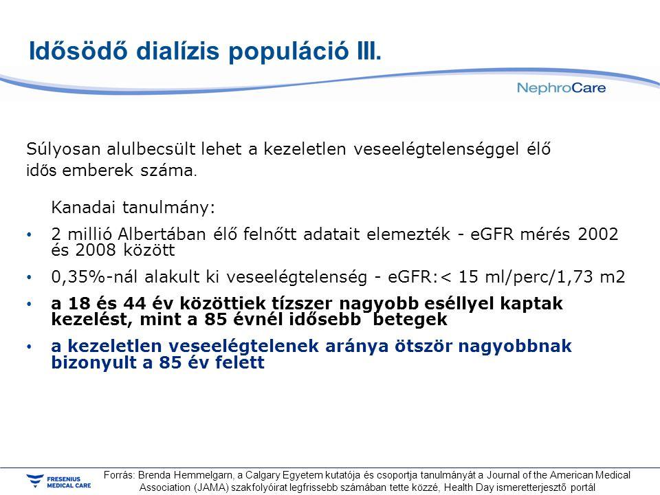 Idősödő dialízis populáció III.