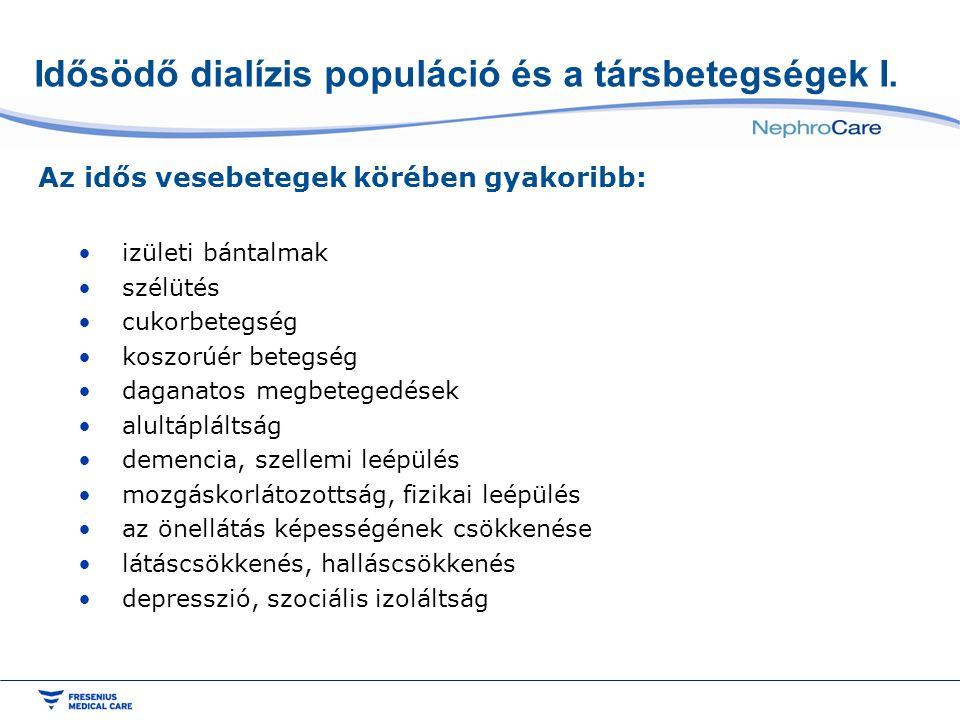 Idősödő dialízis populáció és a társbetegségek I.