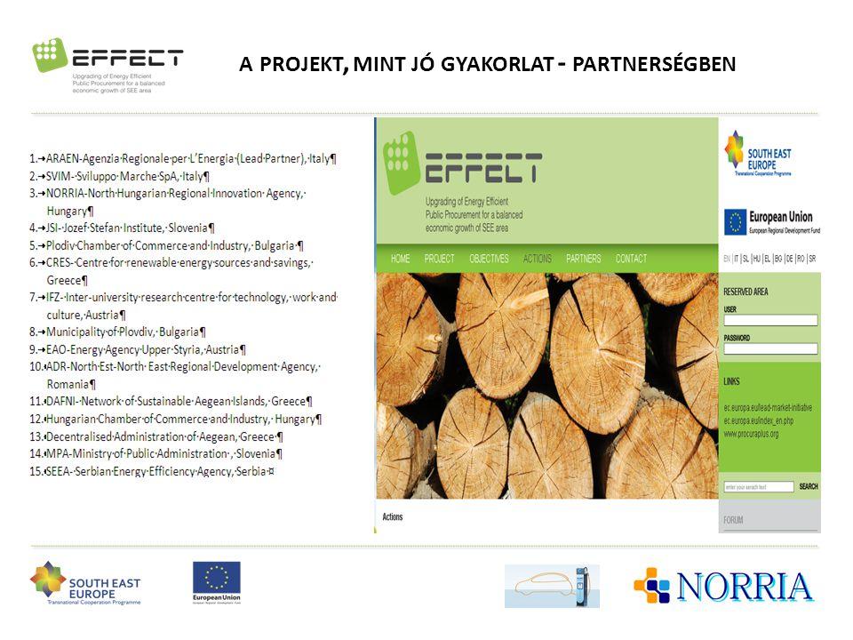 a projekt, mint jó gyakorlat - partnerségben