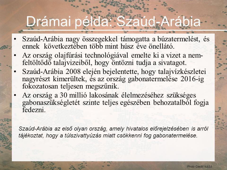 Drámai példa: Szaúd-Arábia