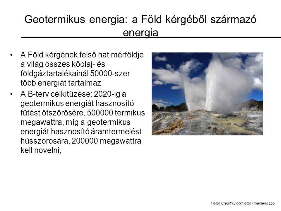 Geotermikus energia: a Föld kérgéből származó energia
