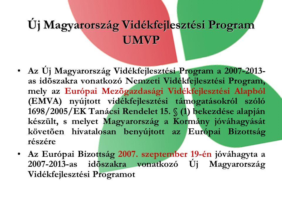 Új Magyarország Vidékfejlesztési Program UMVP